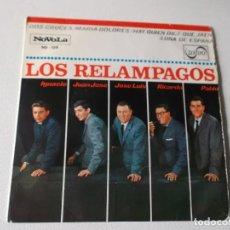 Discos de vinilo: LOS RELAMPAGOS DOS CRUCES- MARIA DOLORES-HAY QUIEN DICE DE JAEN- LUNA DE ESPAÑA. 1965. Lote 81319356