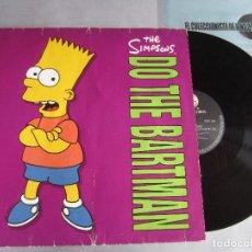 Discos de vinilo: THE SIMPSONS ( DO THE BARTMAN 3 VERSIONES ) 1990-USA MAXI45 GEFFEN RECORDS. Lote 81439712