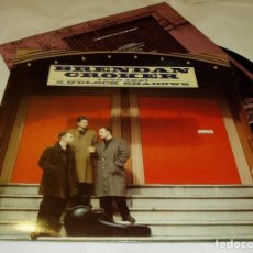 Discos de vinilo: BRENDAN CROKER AND THE 5 O'CLOCK SHADOWS LP 1989 SILVERTONE RECORDS + ENCARTE ORIGINAL. Lote 81537164
