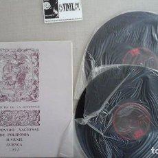Discos de vinilo: ENCUENTRO NACIONAL DE POLIFONIA JUVENIL. CUENCA 1982. 2 LP NUEVO. Lote 81558696