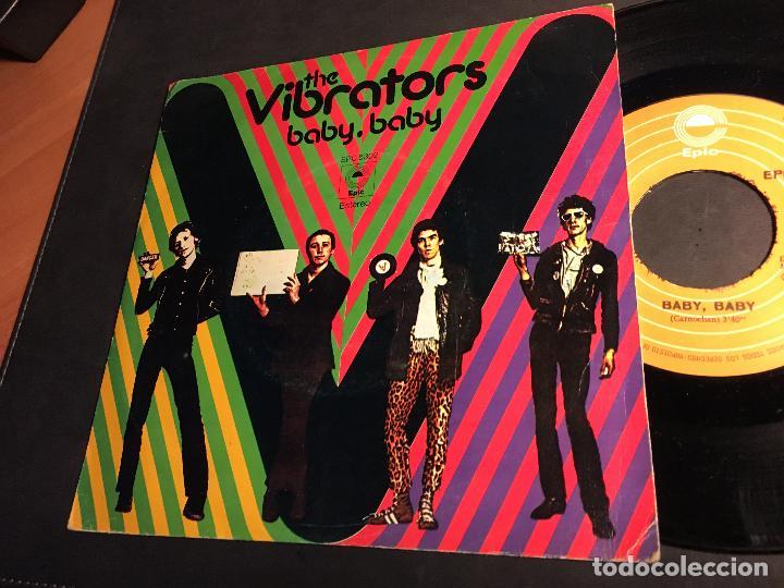 THE VIBRATORS (BABY, BABY / EN EL FUTURO) SINGLE ESPAÑA 1977 PUNK (EPI6) (Música - Discos - Singles Vinilo - Punk - Hard Core)