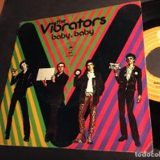 Discos de vinilo: THE VIBRATORS (BABY, BABY / EN EL FUTURO) SINGLE ESPAÑA 1977 PUNK (EPI6). Lote 81565008