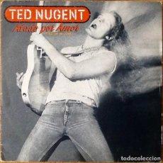 Discos de vinilo: TED NUGENT : TIED UP IN LOVE [ESP 1984] 7'. Lote 81593440