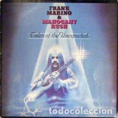 Discos de vinilo: FRANK MARINO & MAHOGANY RUSH - TALES OF THE UNEXPECTED LP. Lote 81601032