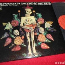 Discos de vinilo: LOS PANCHOS CON CANCIONES DE MANZANERO LP 1971 CBS EDICION ESPAÑOLA SPAIN NUEVO. Lote 81603396