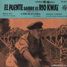 Discos de vinilo: EL PUENTE SOBRE EL RIO KWAI / EP PHILIPS DE 1968 RF-2043. Lote 81620080