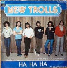 Discos de vinilo: NEW TROLLS : HA HA HA [ESP 1979]. Lote 81625592