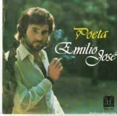 Disques de vinyle: EMILIO JOSE - POETA / SAN GABRIEL (SINGLE ESPAÑOL, SAUCE 1979). Lote 91153669