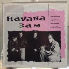 Discos de vinilo: HAVANA 3 A.M. - REACH THE ROCK - NUEVO ALEMAN. Lote 81652652