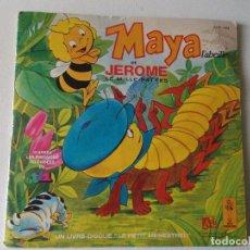 Discos de vinilo: MAYA L,ABEILLE ET JEROME LE MILLE-PATTES -MAYA L,ABEILLE- MAYA ET MAX-LA VER DE TERRE- 1978 PARIS. Lote 81652848
