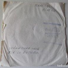 Discos de vinilo: MARIBEL RIVERA - SEVILLA CUNA CALE -OLE LO ESPAÑOL-LA ESCOBA -FLAMENCO YE YE 1965 PROMOCIONAL BERT. Lote 81653840