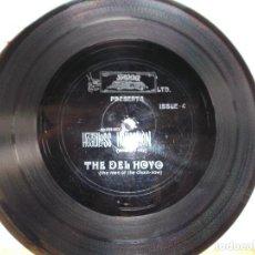Discos de vinilo: THE DEL HOYO THE HEADLESS HORSEMEN . ISSUE FLEXI DISCO PROMOCIONAL. Lote 81655136