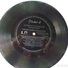 Discos de vinilo: FISCHER Z YENDO SORDO POR LA VIDA- FLEXI DISCO PROMOCIONAL 1980. Lote 81655812