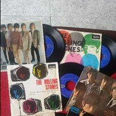 Discos de vinilo: LOTE 7 EPS ESPAÑOLES DE LOS ROLLING STONES AÑOS 60S. Lote 81661120