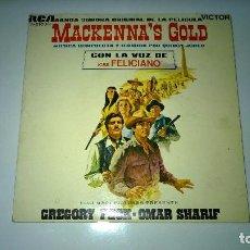 Discos de vinilo: MACKANNA´S GOLD.CON LA VOZ DE JOSÉ FELICIANO.B.S.O.ESPAÑA 1969.VICTOR.. Lote 81663544