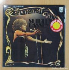 Discos de vinilo: SHIRLEY BASSEY - SPOTLIGHT ON SHIRLEY BASSEY - GATEFOLD - 2 LP. Lote 81664538