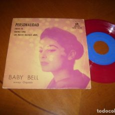 Discos de vinilo: EP : BABY BELL : PERSONALIDAD + 3 SPAIN 1960. Lote 81672216