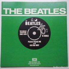 Discos de vinilo: BEATLES ''PLEASE PLEASE ME'' FUNDA DE LOS BEATLES DISCOGRAFIA INGLESA 2, AÑOS 60 ES SIN DISCO. Lote 81684240