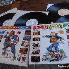 Discos de vinilo: EL GOLFO 1 + EL GOLFO 2- 4 LPS 24 ÉXITOS EN VERSIONES ORIGINALES DUNCAN DHU+SECRETOS+ SINIENTRO. Lote 81687096