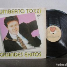 Discos de vinilo: UMBERTO TOZZI GRANDES EXITOS 1984 RODVEN VENEZUELA LP T90 VG+ RARO ESCASO. Lote 81708148