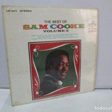 Discos de vinilo: THE BEST OF SAM COOKE. VOLUME 2. DISCO DE VINILO. RCA 1965. VER FOTOGRAFIAS ADJUNTAS. Lote 81712928