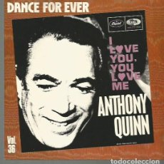 Discos de vinilo: ANTHONY QUINN SINGLE SELLO EMI-CAPITOL AÑO 1985 EDITADO EN FRANCIA. Lote 81717528