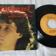 Discos de vinilo: 6-SINGLE ENMANUELLE- SI ESE TIEMPO PUDIERA VOLVER. Lote 81717748