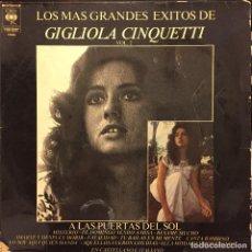 Discos de vinilo: LP ARGENTINO RECOPILATORIO DE GIGLIOLA CINQUETTI AÑO 1974 REEDICIÓN. Lote 81721628