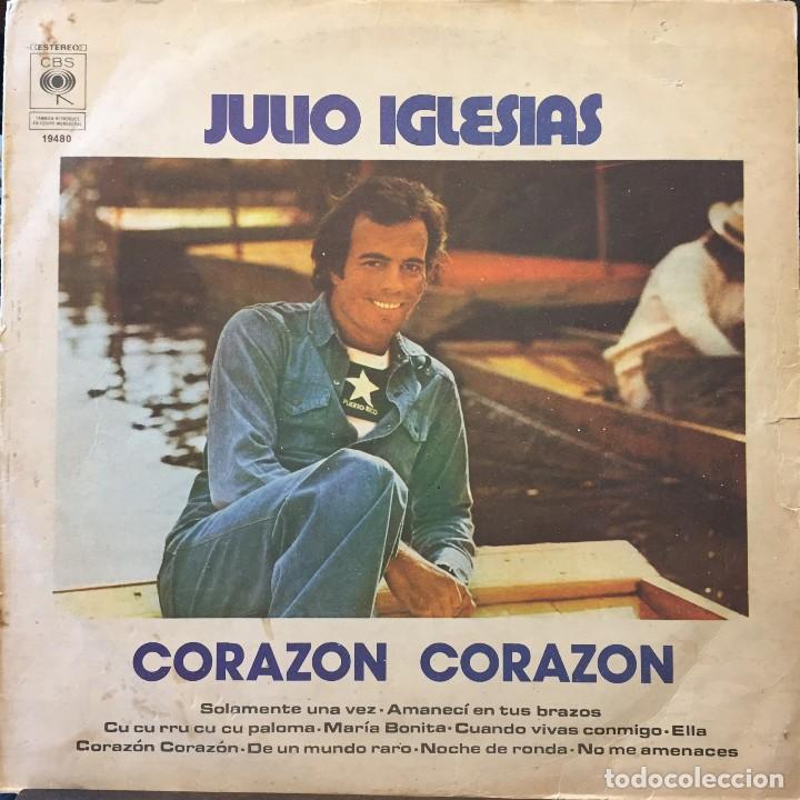 LP ARGENTINO DE JULIO IGLESIAS AÑO 1975 (Música - Discos - Singles Vinilo - Solistas Españoles de los 50 y 60)