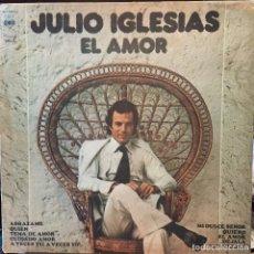 Discos de vinilo: LP ARGENTINO DE JULIO IGLESIAS AÑO 1975 PORTADA CARPETA. Lote 81722252