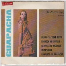 Dischi in vinile: LA GUAPACHA / PERICO YA TIENE NOVIA + 3 (EP 1966). Lote 81729332