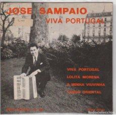 Discos de vinilo: JOSE SAMPAIO / VIVA PORTUGAL + 3 (EP ORIGINAL FRANCES). Lote 81730284