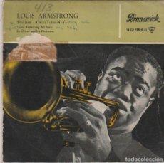 Discos de vinilo: LOUIS ARMSTRONG / SKOKIAAN + 3 (EP 1960). Lote 81730792