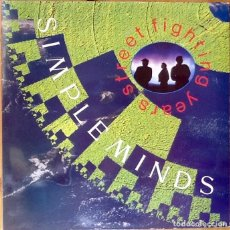 Discos de vinilo: SIMPLE MINDS : STREET FIGHTING YEARS [ESP 1991]. Lote 81732284