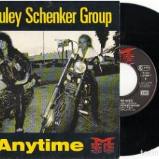 Discos de vinilo: SINGLE MCAULEY SCHENKER GROUP- ANYTIME - EMI 1990. Lote 81736396