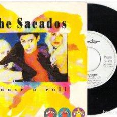 Discos de vinilo: SINGLE THE SECADOS - HOUSE´N ROLL - DISCOS HOME 1992. Lote 81737272