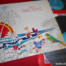Discos de vinilo: PEREZ PRADO Y SU ORQUESTA ESTE ES PEREZ PRADO 2LP 1973 RCA GATEFOLD EDICION ESPAÑOLA SPAIN. Lote 81738376