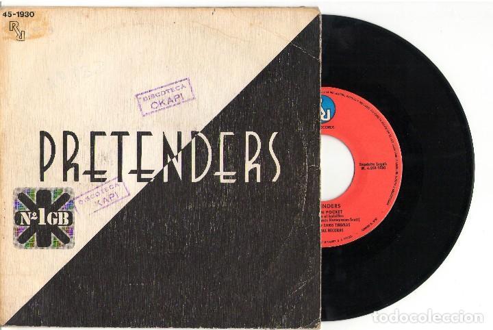EPBRASS IN POCKETPRETENDERSEPREAL RECORDS1980 (Música - Discos de Vinilo - EPs - Pop - Rock - New Wave Extranjero de los 80)