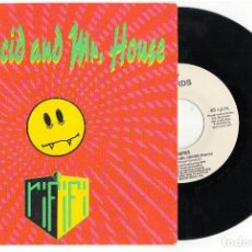 Discos de vinilo: SINGLE DR. ACID AND MR. HOUSE - RIFIFI  - BOY RECORDS 1989. Lote 81741112