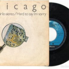Discos de vinilo: EP	HARD TO SAY I'M SORRY 	CHICAGO 	EP	WEA	1982. Lote 81741688