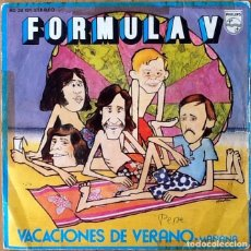 Discos de vinilo: FORMULA V : VACACIONES DE VERANO [ESP 1972]. Lote 81749272