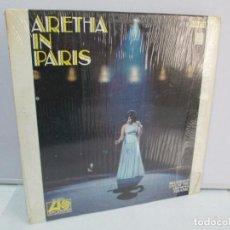 Discos de vinilo: ARETHA FRANKLIN. ARETHA IN PARIS. DISCO DE VINILO. ATLANTIC 1968. VER FOTOGRAFIAS ADJUNTAS. Lote 81754480