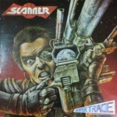 Discos de vinilo: SCANNER - HYPER TRACE LP RARO + INSRT EEC 1988. Lote 81755016