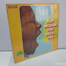 Discos de vinilo: FLIP WILSON YOU DEVIL YOU. DISCO DE VINILO. ATLANTIC 1968. VER FOTOGRAFIAS ADJUNTAS. Lote 81764288