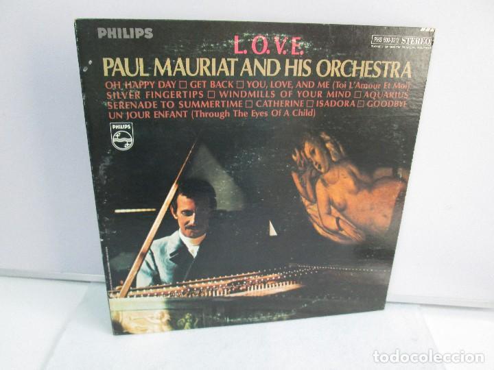 L.O.V.E. PAUL MAURIAT AND HIS ORCHESTRA. DISCO DE VINILO. PHILIPS. VER FOTOGRAFIAS ADJUNTAS (Música - Discos - Singles Vinilo - Orquestas)