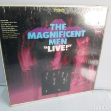 Discos de vinilo: THE MAGNIFICENT MEN. LIVE!. DISCO DE VINILO. CAPITOL RECORDS. VER FOTOGRAFIAS ADJUNTAS. Lote 81768952