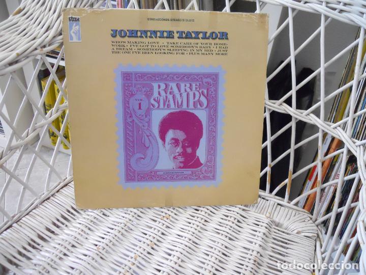 johnnie taylor– rare stamps lp original usa 19 - Sold through Direct