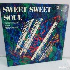 Discos de vinilo: SWEET SWEET SOUL. DICK HYMAN AND THE GROUP. DISCO DE VINILO. ABC RECORDS. VE RFOTOGRAFIAS ADJUNTAS. Lote 81812236