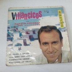 Discos de vinilo: DISCO VINILO MANOLO ESCOBAR VILLANCICOS. Lote 81751023