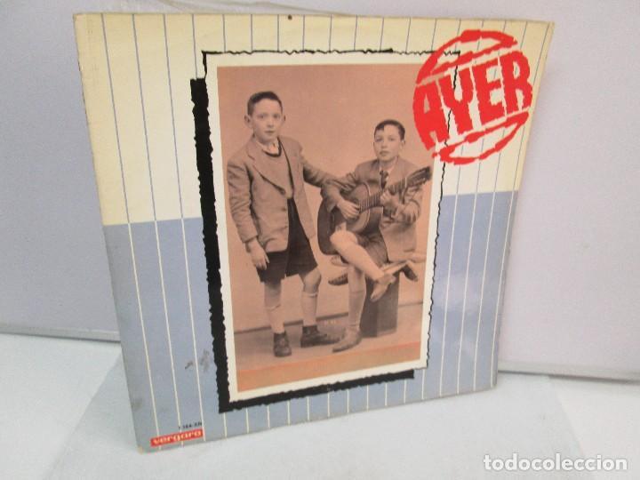 AYER Y MAÑANA... HERMANOS CALATRAVA. DISCOS DE VINILO. VERGARA 1970. VER FOTOGRAFIAS ADJUNTAS (Música - Discos - Singles Vinilo - Cantautores Españoles)